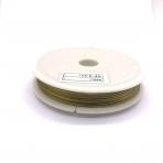 0,45mm sendinto aukso sp. plieninis 7 gijų troselis, iki 100m