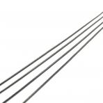 1x1mm juodintos sp. grandinėlė, 1m