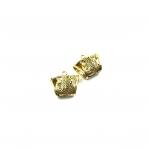 37x34mm aukso sp. pakabukų laikikliai, 2vnt.