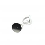 20mm sidabro sp. žiedo pagrindas, 4vnt.