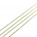 1,20x1,20mm gelsvos sp. grandinėlė, 1m