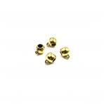 8x12mm aukso sp. pakabukų laikikliai, 11vnt.