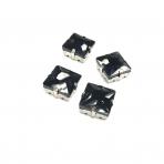 14mm juodos sp. kristalai sidabro sp. rėmeliuose, 4vnt
