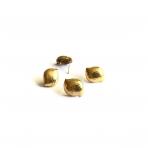 16x13mm aukso sp. auskarų įvėrimai, 4vnt