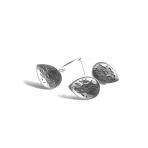 18x13mm sidabro sp. auskarų įvėrimai, 4vnt.