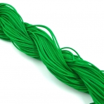 1mm shamballa virvelė, žalios sp. iki 25m