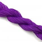 1mm shamballa virvelė, violetinės sp. iki 25m