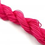 1mm shamballa virvelė,ryškiai rožinės sp. iki 25m