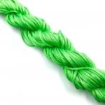 1mm shamballa virvelė, šviesiai žalios sp. iki 25m