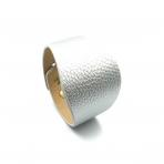 220x50mm sidabro sp. odinės apyrankės ruošinys, aukso sp. užsegimu