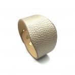 220x50mm aukso sp. odinės apyrankės ruošinys, aukso sp. užsegimu