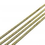 2,30x0,95mm sendinto aukso sp. grandinėlė, 1m.