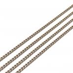 2,15x1,60mm šviesiai rudos sp. grandinėlė, 1m