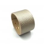 210x42mm aukso sp. odinės apyrankės ruošinys, aukso sp. užsegimu