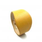 230x52mm garstyčių sp. odinės apyrankės ruošinys, aukso sp. užsegimu