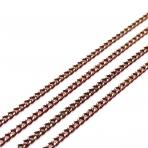 2,2x1,5mm bordo sp. grandinėlė, 1m