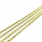 7x5mm aukso sp. grandinėlė, 1m