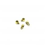 4x9mm aukso sp. pakabukų laikikliai, 44vnt.