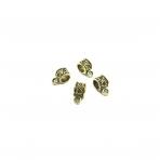 6x12mm aukso sp. pakabukų laikikliai, 30vnt.