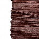 3mm rudos sp. sutažo juostelė, 27m