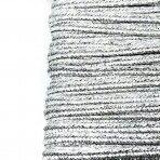 3mm sidabro sp. sutažo juostelė, 27m