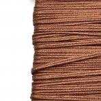 3mm šviesiai rudos sp. sutažo juostelė, 27m