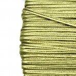 3mm žalsvos sp. sutažo juostelė, 27m