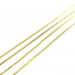 1,2x1,2mm aukso sp. grandinėlė, 1m