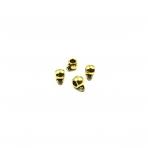 5x10mm aukso sp. pakabukų laikikliai, 22vnt.