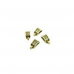 10x21mm aukso sp. pakabukų laikikliai, 10vnt.