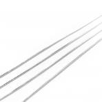 1x1mm sidabro sp. grandinėlė, 1m