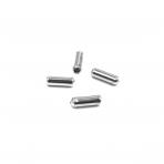 11x4mm sidabro sp. segių užsegimų smeigtukų kaištukai, 32vnt.