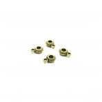 3x10mm aukso sp. pakabukų laikikliai, 33vnt.