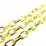 17x10mm aukso sp. grandinėlė, 1m