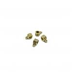 5x10mm aukso sp. pakabukų laikikliai, 23vnt.
