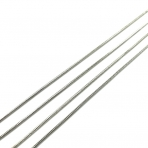 1,2x1,2mm sidabro sp. grandinėlė, 1m