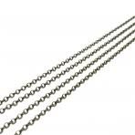 2x2mm žalvario sp. grandinėlė, 1m