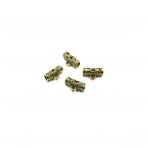 15x9mm aukso sp. pakabukų laikikliai, 22vnt.