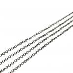 2x2mm juodintos sp. grandinėlė, 1m